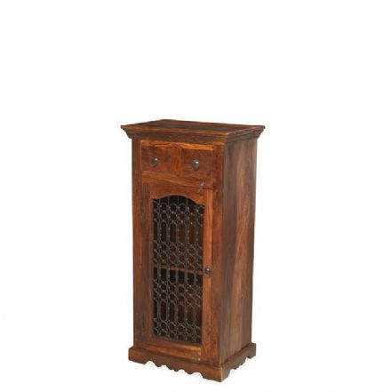Jali Sheesham Wood Entertainment HI-Fi Cabinet